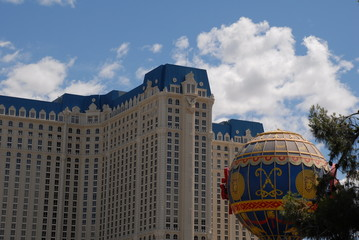 building, sky and balloon