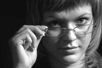 girl with glass ii