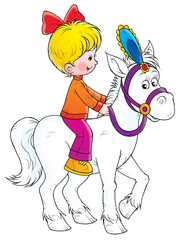 In de dag Pony Ride