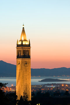 berkeley university sather tower zoom