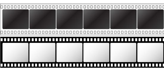 photographic 35mm films strips