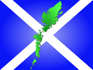 map of outer hebrides