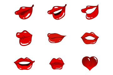 eight lips & one heart