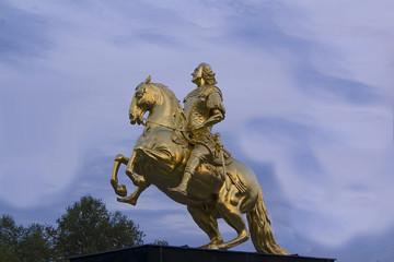 goldener reiter dresden