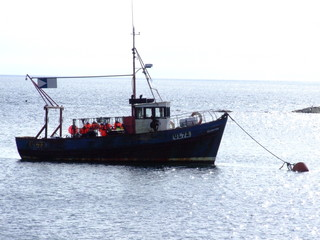 fishing boat jura