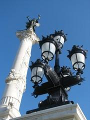 Fotobehang Fontaine colonne des girondins