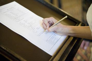 signing the pledge