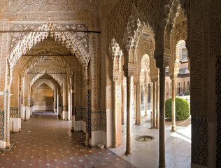 hall in alhambra