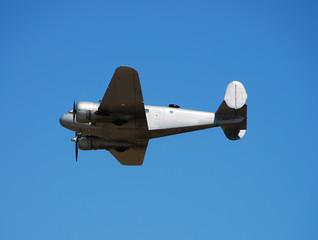 Wall Mural - vintage airplane in flight