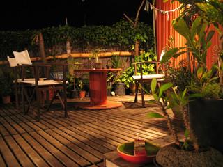 terrasse zen et lumière naturelle