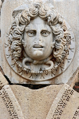 gorgon´s head, the septimius severus new forum