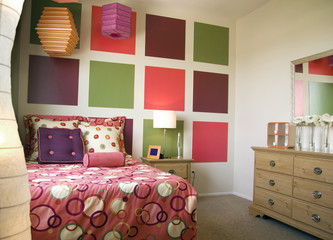 stylish teenage bedroom decor