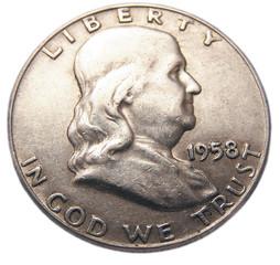 franklin half dollar coin