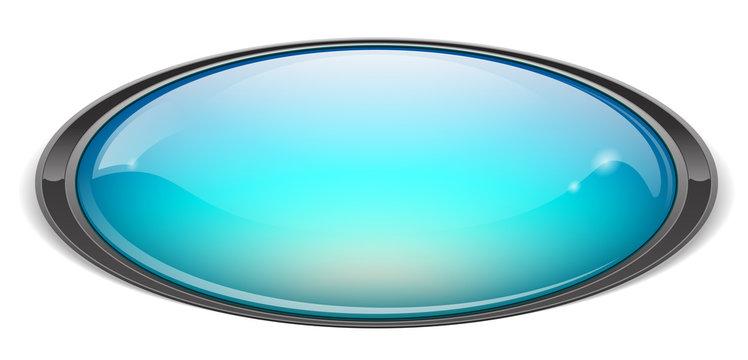 icone ovale bleu