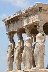 caryatids at acropolis 2