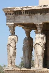 caryatids at acropolis