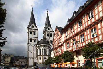 kirchplatz in boppard