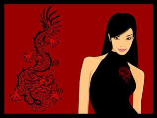 nice chinese woman