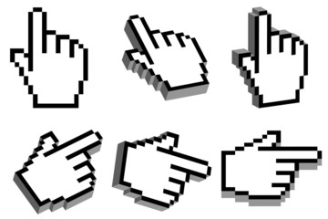 3D hand cursor