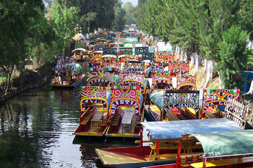 boats of xochimilco