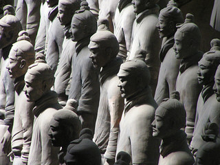 Deurstickers Xian terracotta warriors