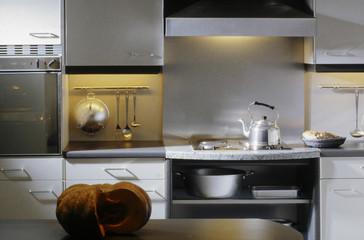 cuisine amenagée aluminium