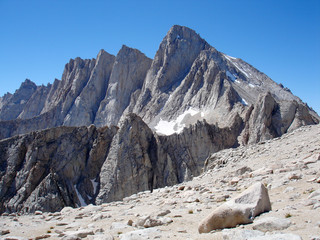 mt. whitney - the highest peak in the continental