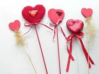 hearts for st valentines day