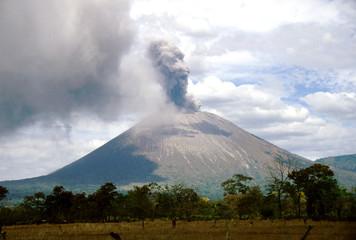 Poster Volcano san cristobal 0010