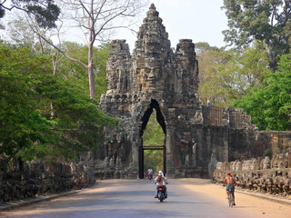 guardian of angkor - statue - cambodia - asia