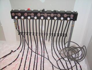 pompe à chaleur, raccordement circuit chauffage