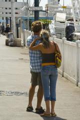 couple en vacance