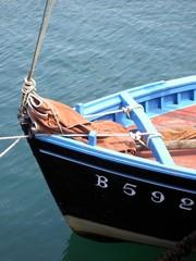 Wall Mural - bateau et cordage en bretagne