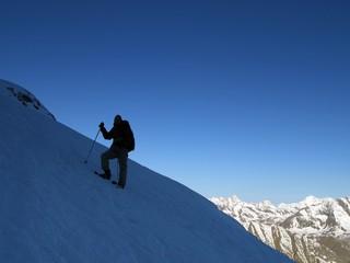 climbing italy's highest mountain