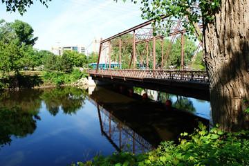 iron bridge, minneapolis