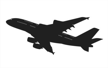 airliner silhouette