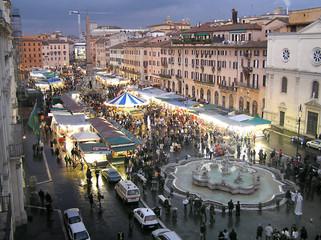 Poster Rome piazza navona