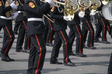 army brass band