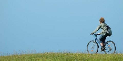 promenade à bicyclette