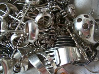 silver tangle
