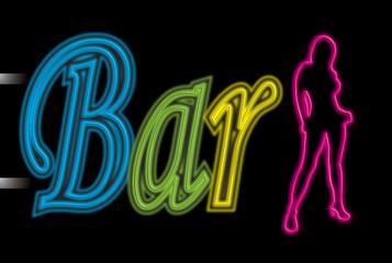 neon sign bar sexy