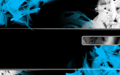 dynamic hi-tech abstract background design series