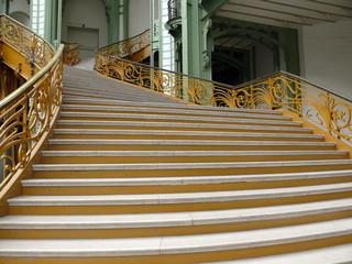 escalier intérieur grand palais, paris 8