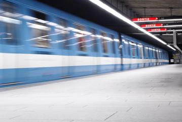 montreal's metro (subway)
