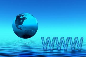 blue planet. www