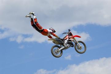 figure en motocross
