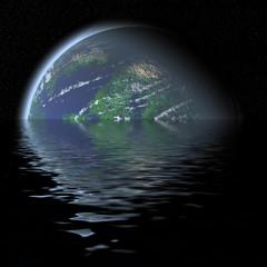 earth and sea.
