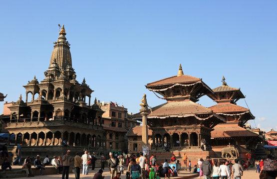 Patan - ancient city of Nepal