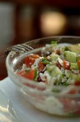 fresh shopska salad