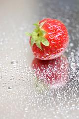 Fototapete - erdbeere